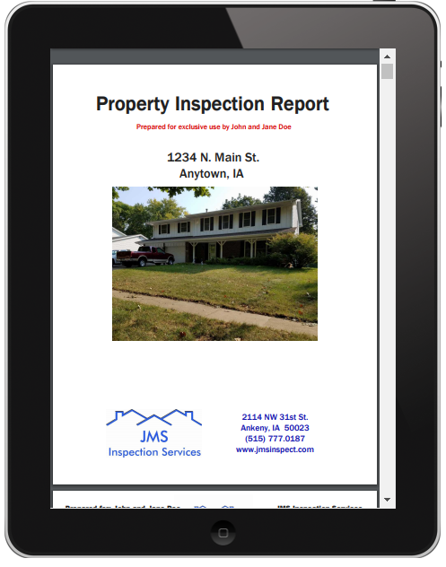 Des Moines Home Inspections